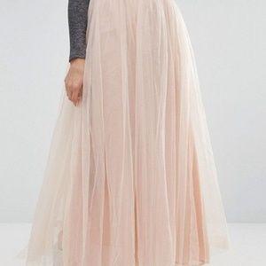 new asos glamorous tulle skirt s small